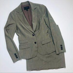 Banana Republic petite skirt suit blazer set